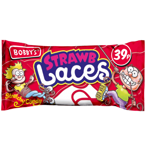 Bobby's Strawb Laces (UK)